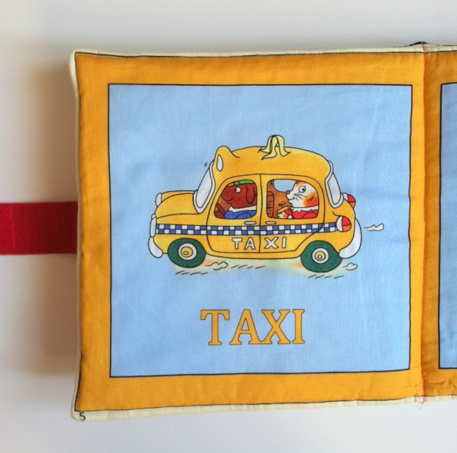 Childrens Cloth Book Soft Pillow Richard Scarry Busy Town